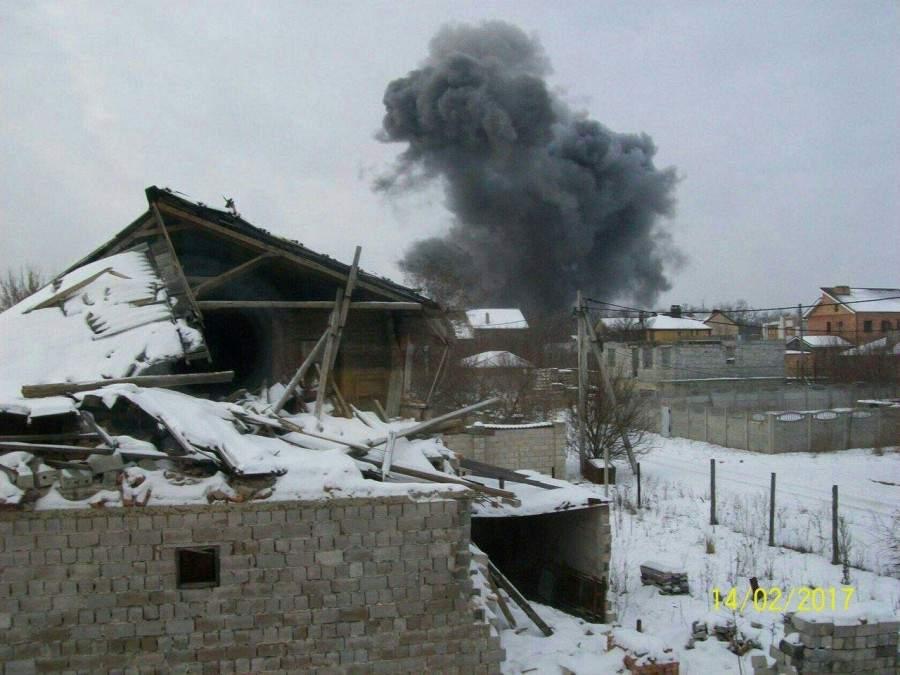 В Донецке прогремел взрыв (Фото)