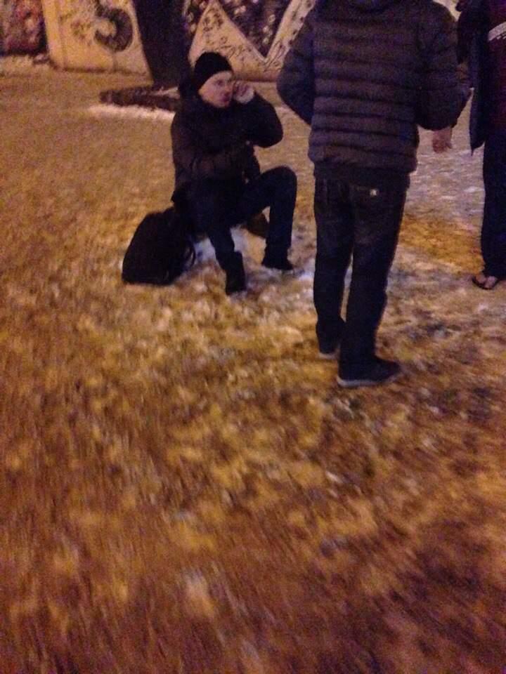 Во Львове автомобиль сбил пешехода: пострадавший госпитализирован (фото)