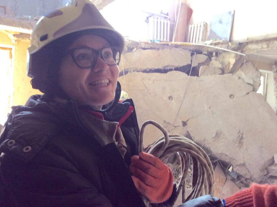 Геращенко нашла  в Авдеевке «свою героиню» (фото)