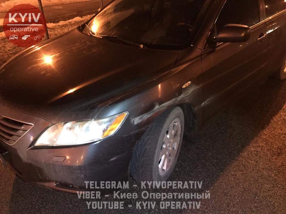 В столице произошла зрелищная погоня: нетрезвый водитель представился помощником Луценко (Видео)
