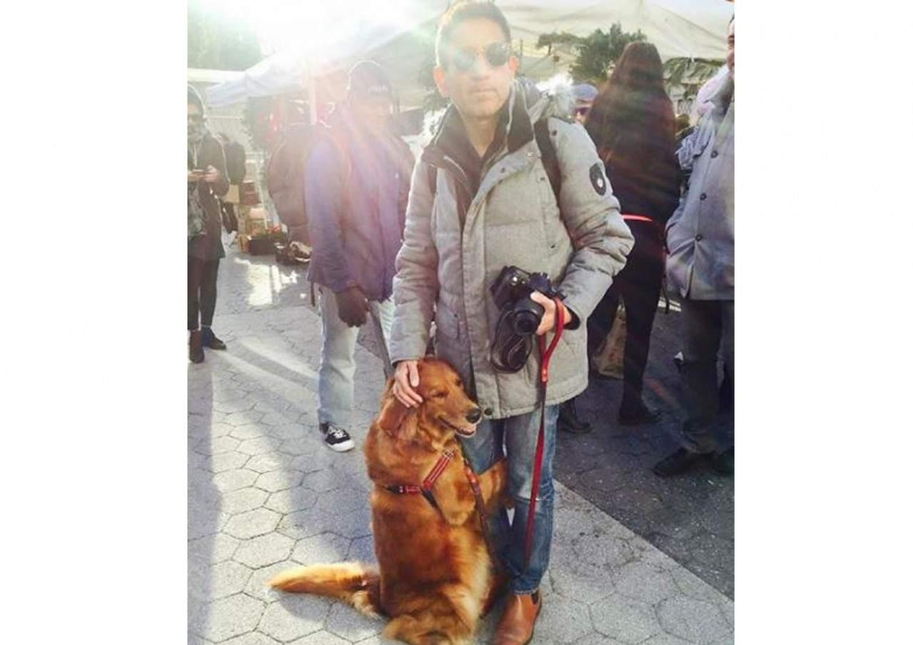 «Обнимательная» собака: ретривер из Нью-Йорка стал звездой соцсетей (видео)