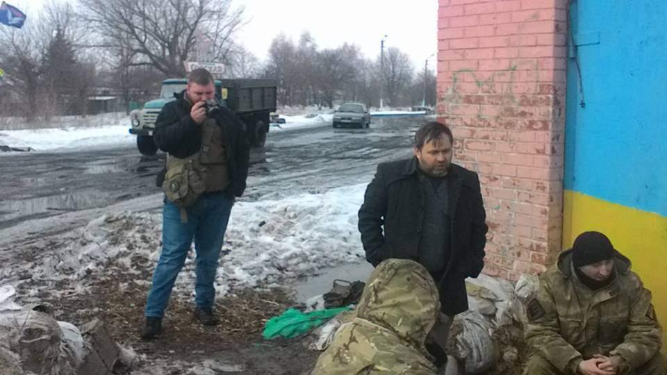 Штаб блокады торговли ликвидировал провокаторов на редуте в Донецкой области