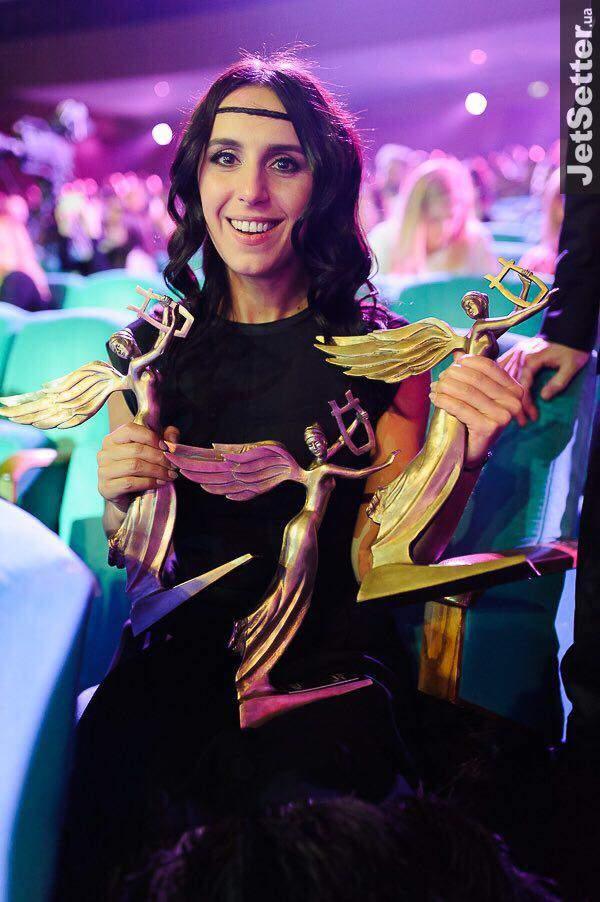 Джамала получила награды в трех номинациях украинской музыкальной премии Yuna