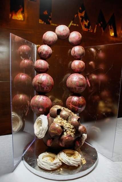 В ресторане киевской области приготовили шоколадный символ Евровидения (Фото)