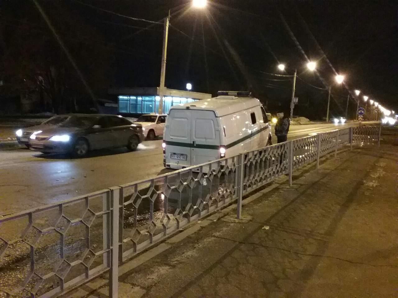 В Харькове у инкассаторской машины отпали задние колеса (Фото)