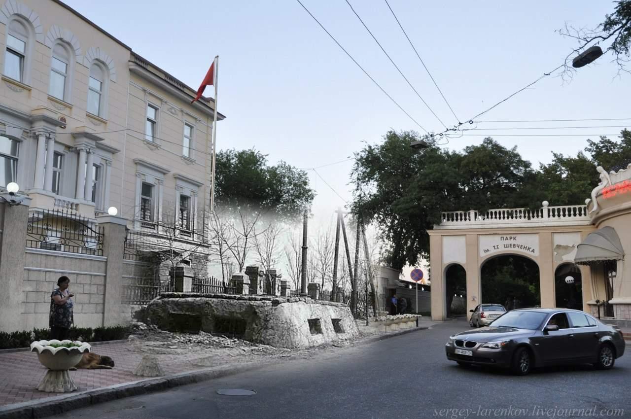 В Одессе соединилось прошлое и нынешние время (Фото)