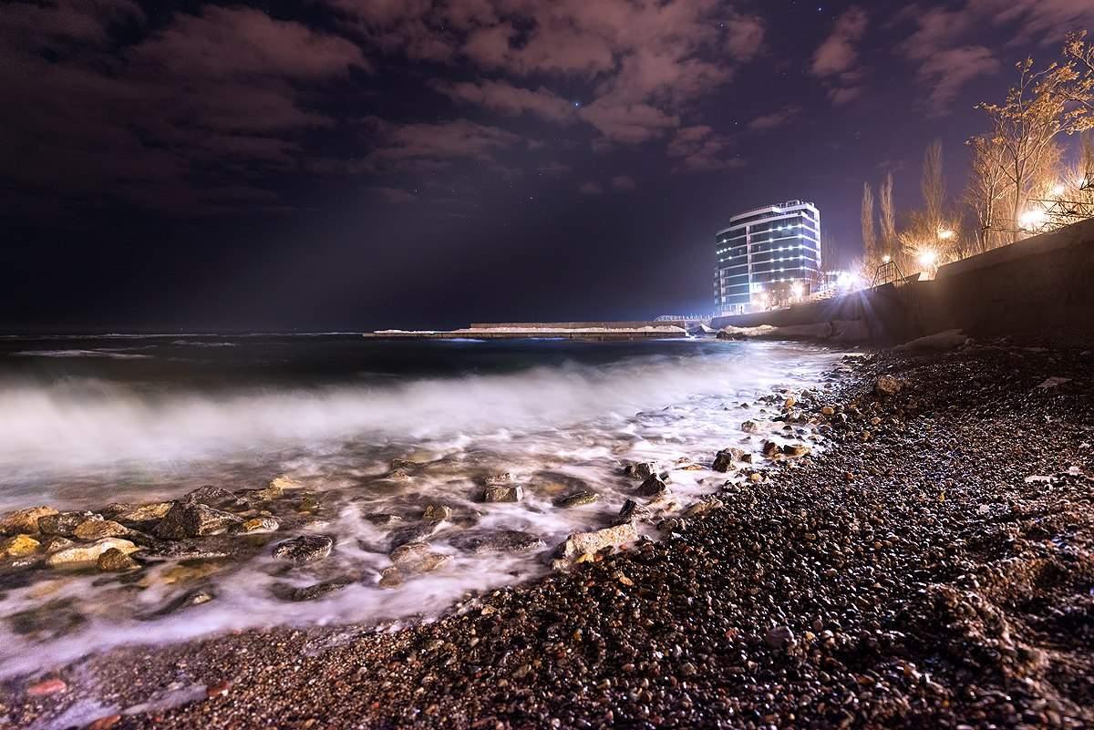 В Одессе настала туманная весна (Фото)