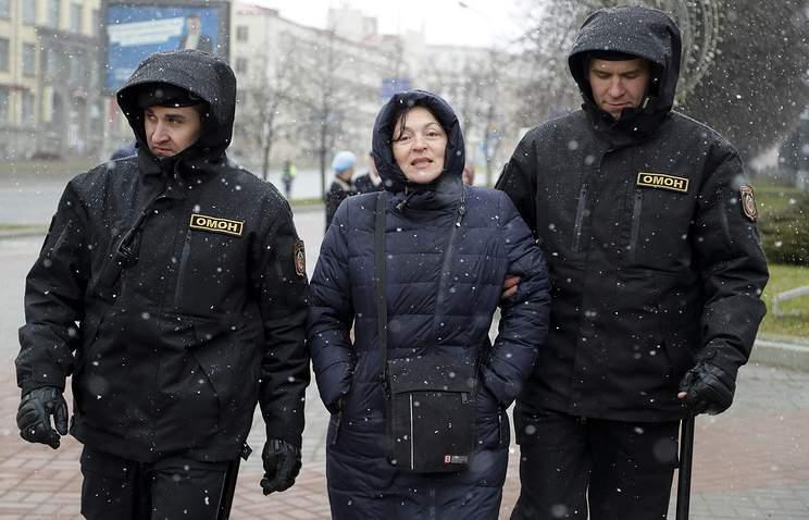 В Белоруссии задержано несколько десятков человек акции