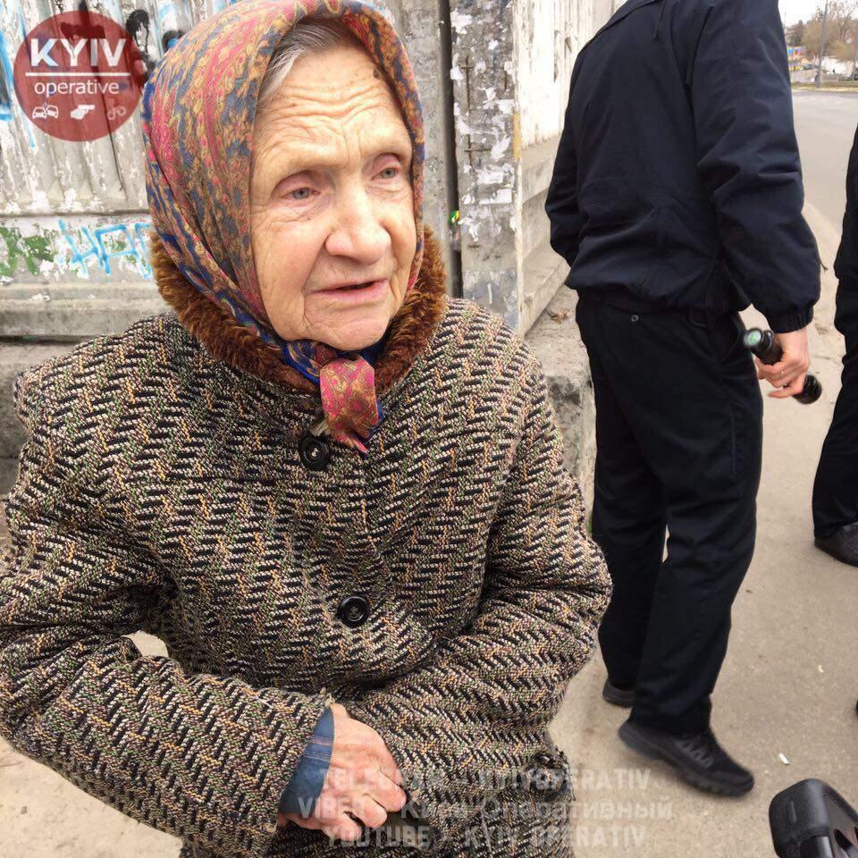Киевские грабители проникли в дом к пенсионерке и украли сервиз (фото)