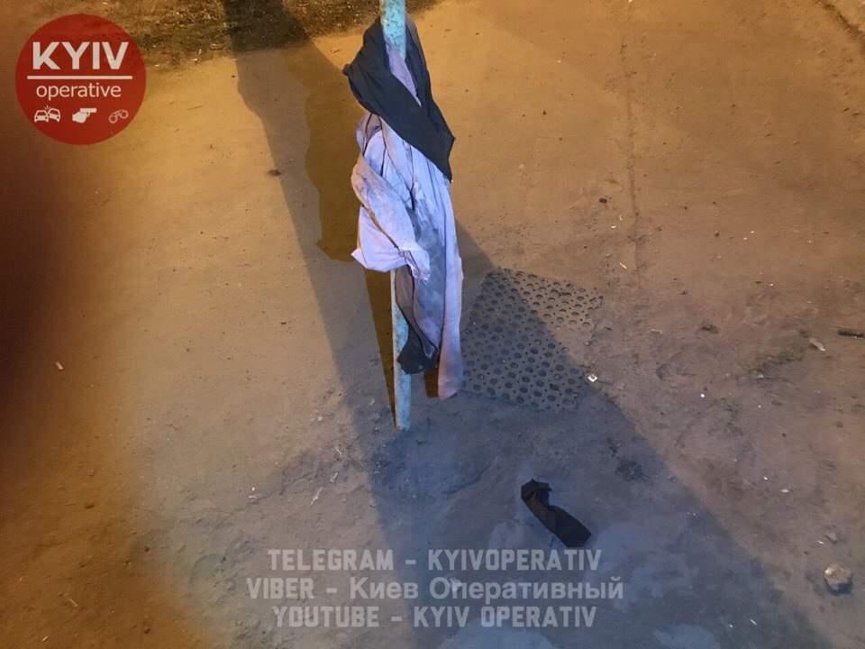 В столице неизвестный мужчина пытался подорвать газовую заправку зажигательной смесью (фото)