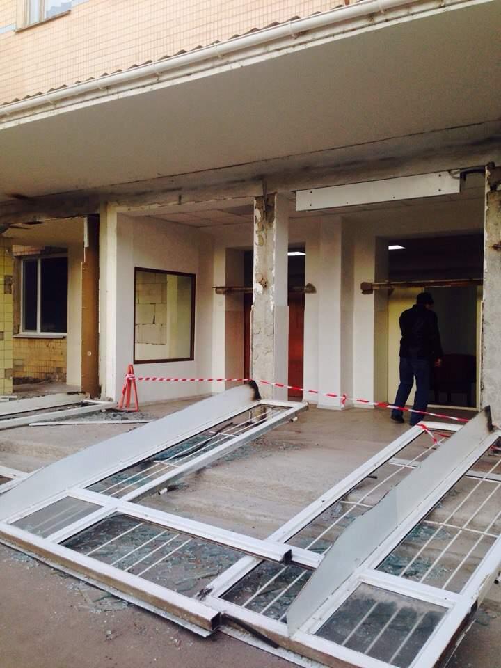 В Одесской области у поликлиники