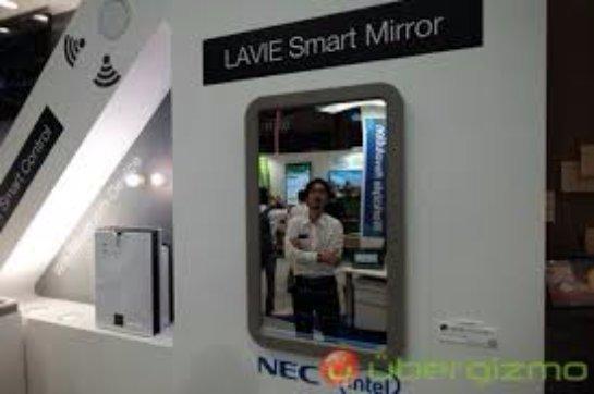 Lenovo показала «зеркало будущего», способное распознавать лица