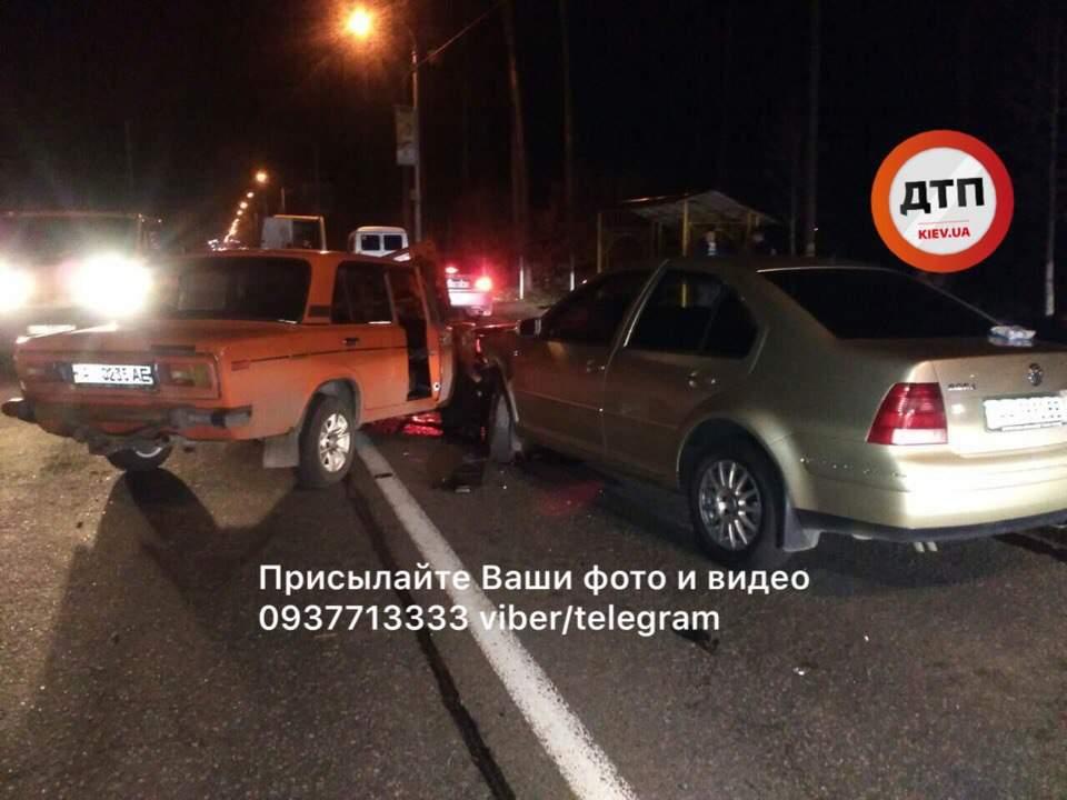 Ужасающее ДТП на Киевщине: водитель