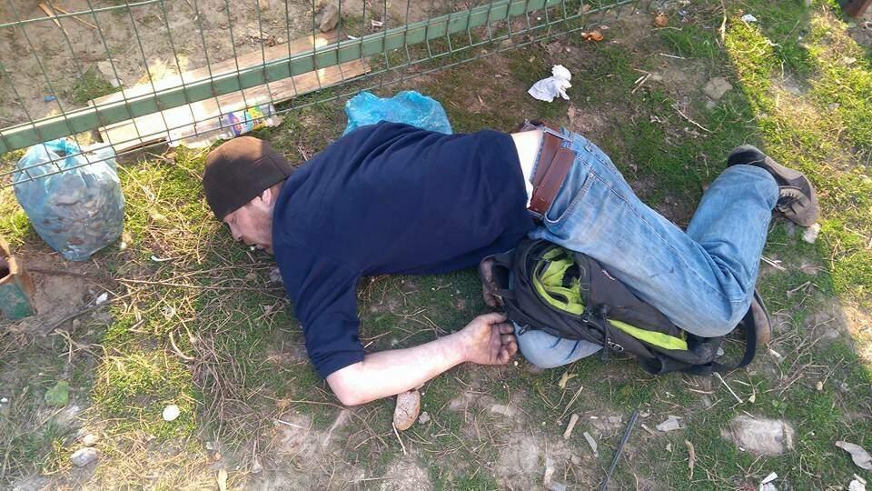 В центре Львова обнаружили тело мужчины без признаков жизни (фото)