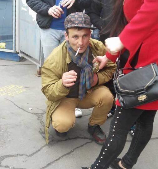 Решительная киевлянка задержала карманника (Фото, видео)