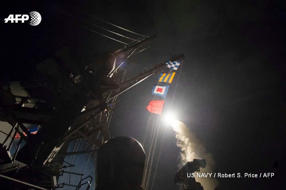 Пентагон выпустил по Сирии десятки крылатых ракет в «интересах безопасности США» (видео)