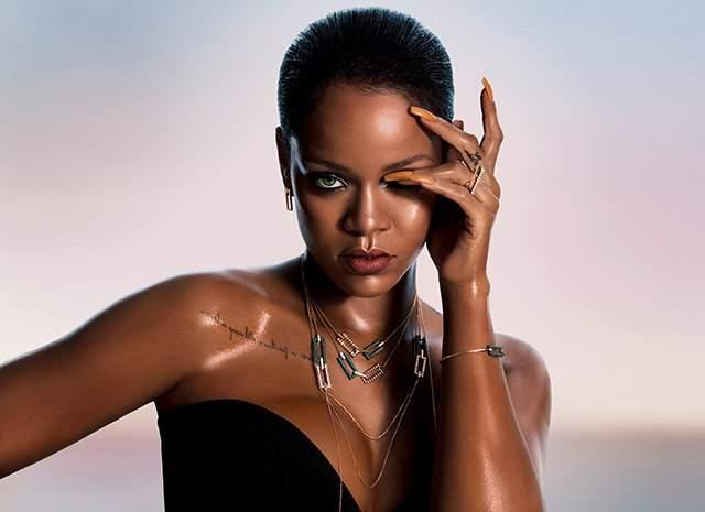 Rihanna приняла участие в разработке дизайна ювелирных украшений (фото)