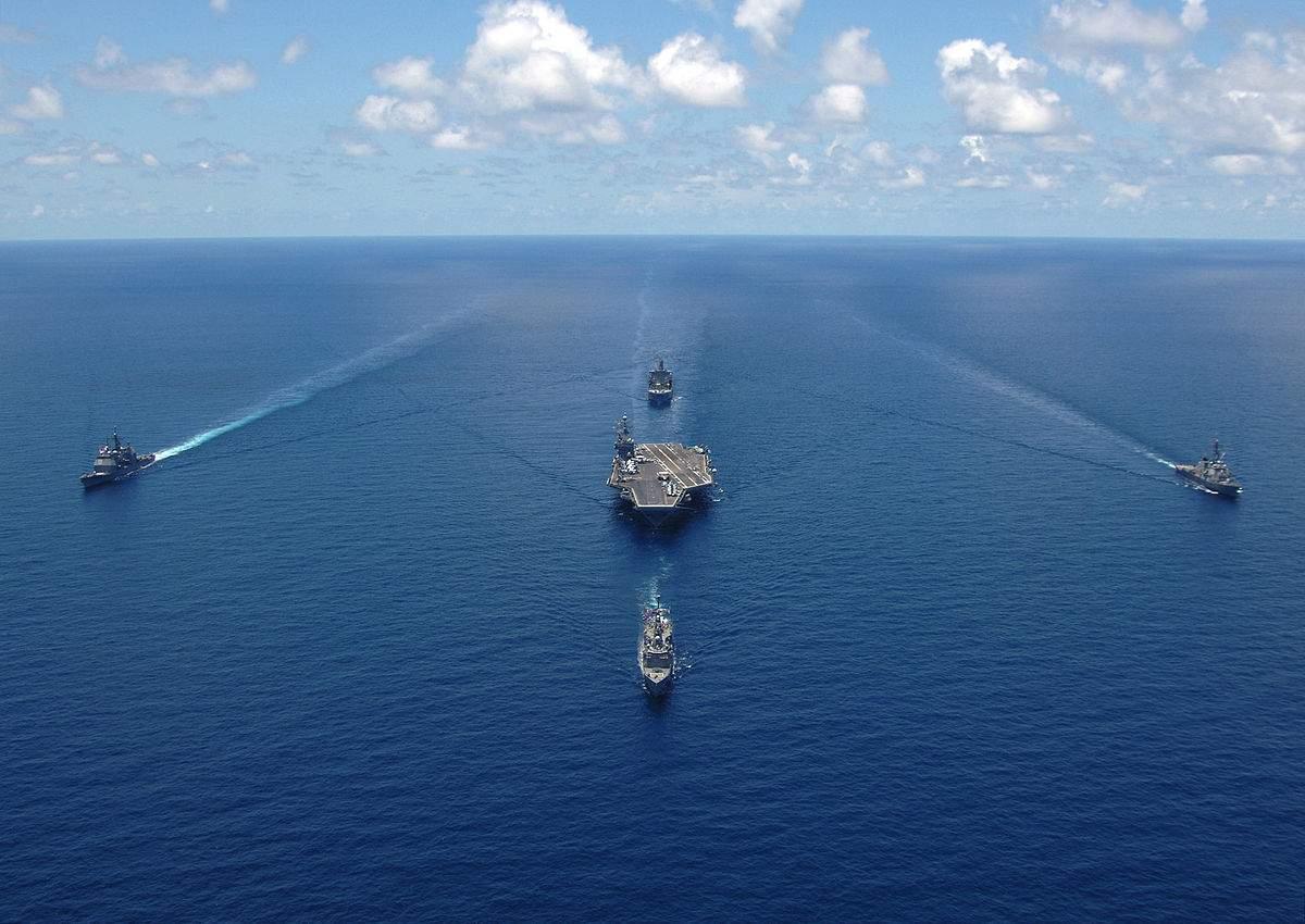 Ударная группа ВМС США  будет располагаться близ Корейского полуострова