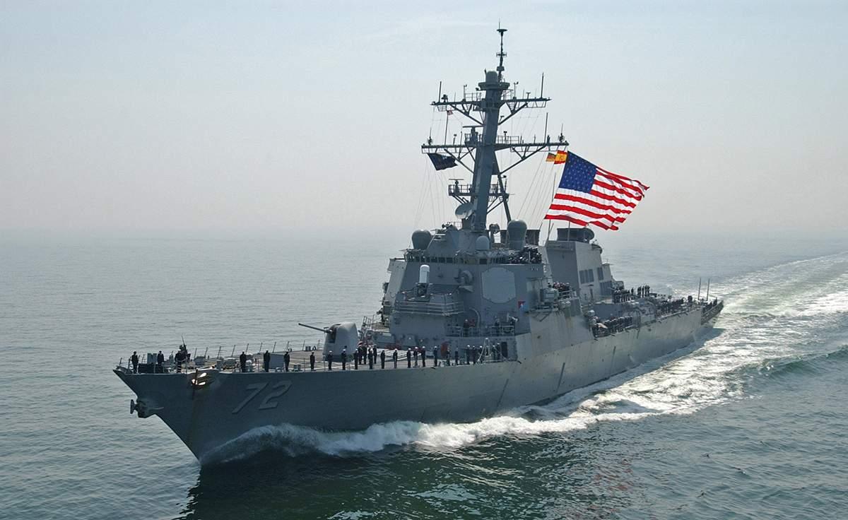 Соединенные штаты направили свои военные корабли к Корее