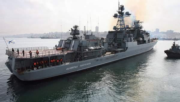 Российский флот активизировался в Европе