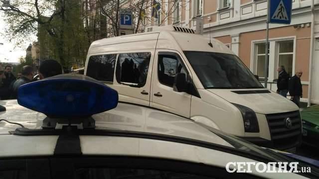 Новые подробности спецоперации СБУ в центре Киева: был задержан один злоумышленник (фото)