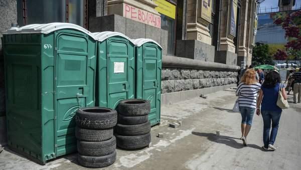 Интерактивная карта общественных туалетов города Киева