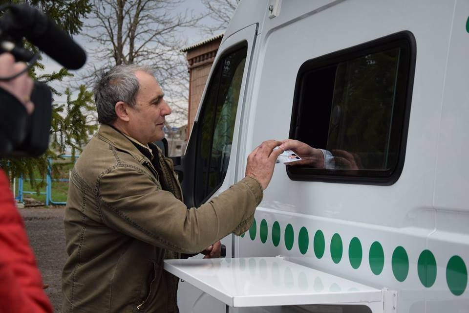 В Донбассе заработали передвижные мобильные сервисные центры МВД