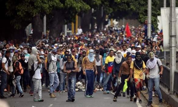 Столкновения в Венесуэле: во время протеста был застрелен 13-летний подросток