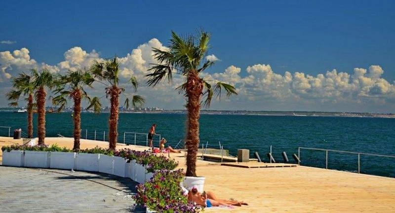 Солнечная Одесса со своими пляжами с высоты птичьего полета (Видео)