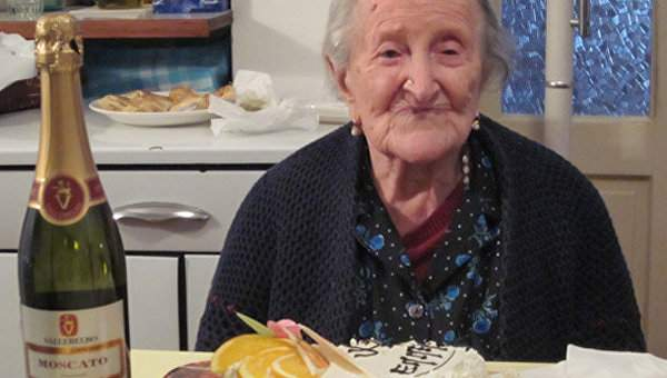 Старейшая жительница мира Эмма Морано скончалась  в возрасте 117 лет