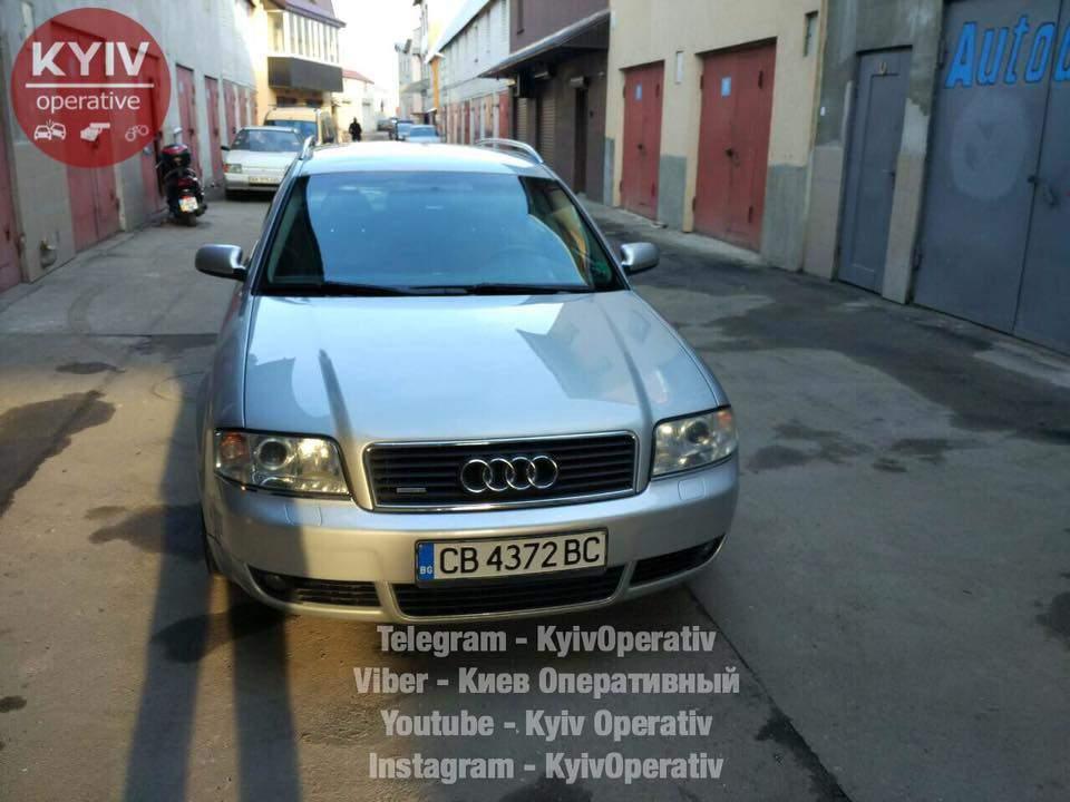 В столице автоаферисты угнали авто (Фото)