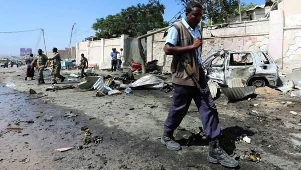 В столице Сомали  взорвался автомобиль со взрывчаткой, есть несколько погибших
