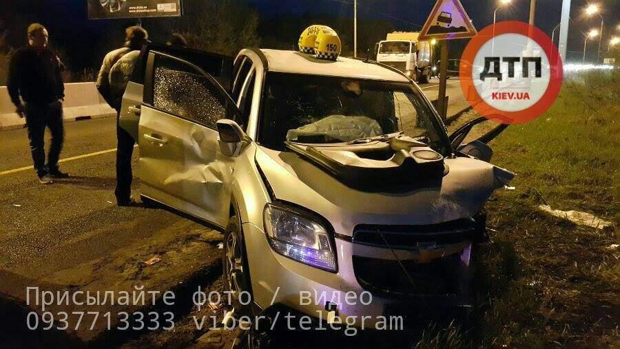 В Киеве произошло ужасное ДТП, пострадала целая семья (Фото)