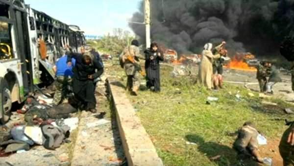 В результате взрыва в Сирии погибло почти 70 детей