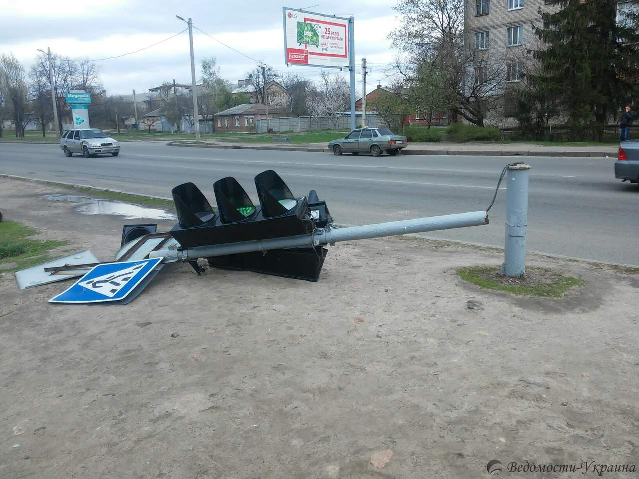 В Харькове светофор