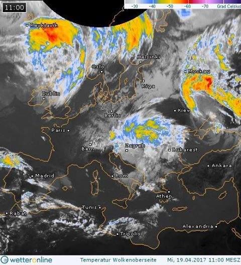 Winter is coming: в Украину надвигается арктический балканский циклон