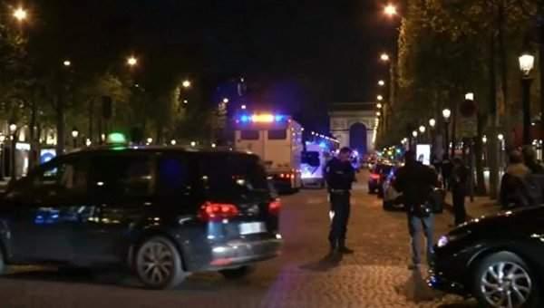 С центра Парижа срочно эвакуируют людей