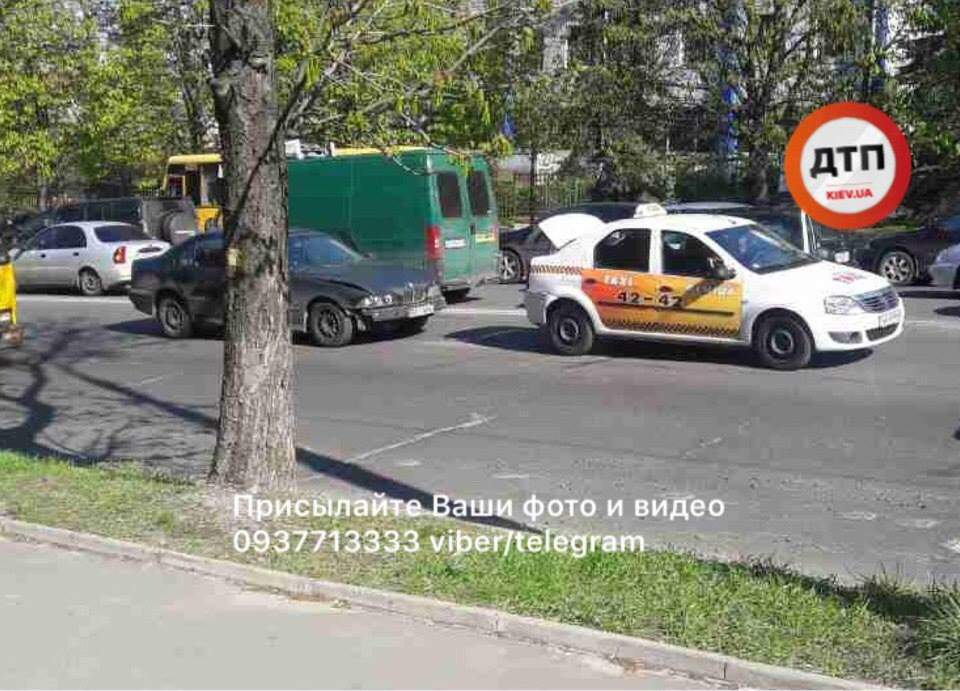 В Киеве BMW