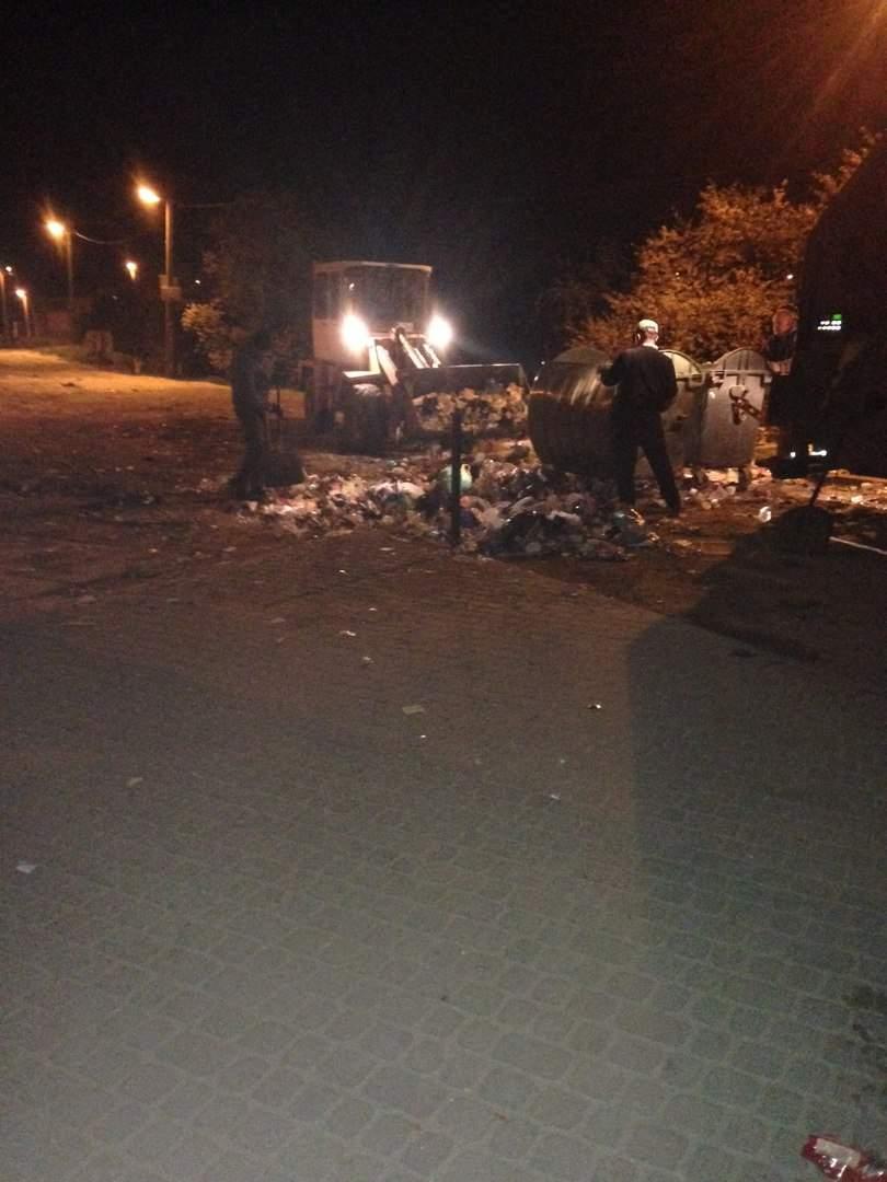 Львов постепенно избавляется от мусора (Фото)