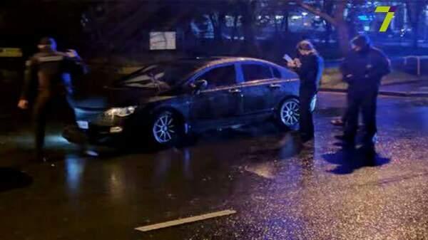 В Одессе полиция поймала пьяного военного прокурора