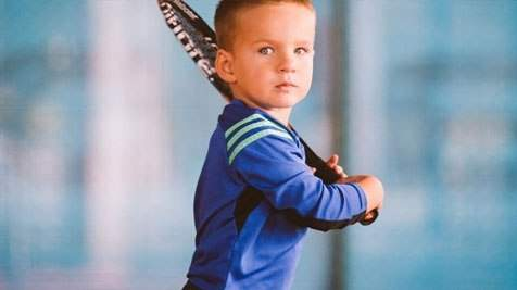 Украинский Джокович: 3-летний одессит стал самым юным теннисистом Украины
