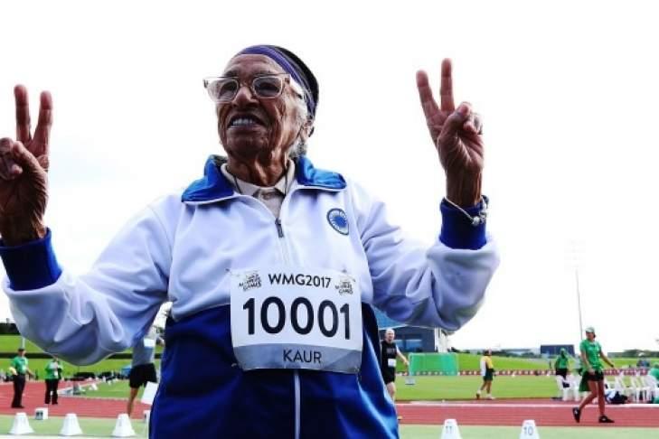 Бегунья в возрасте 101 года преодолела стометровку
