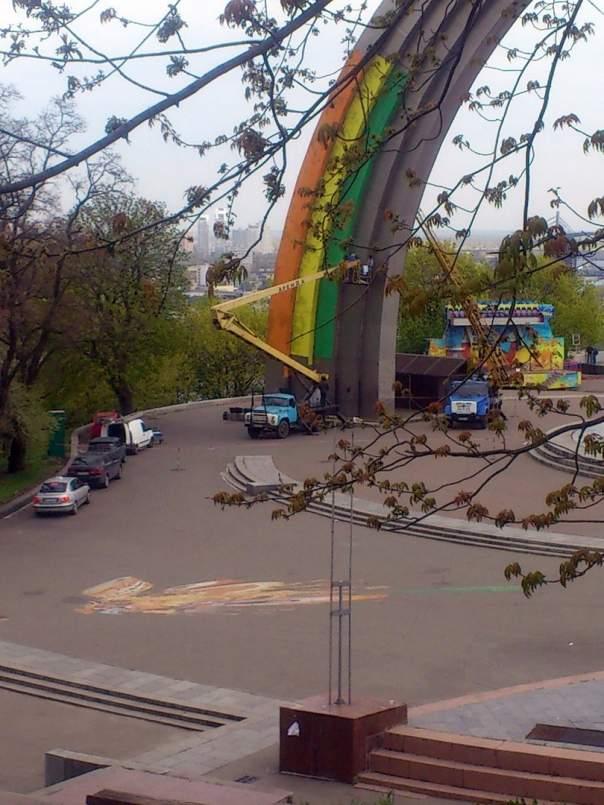 Киевляне активно обсуждают преображение известной достопримечательности столицы (Фото)