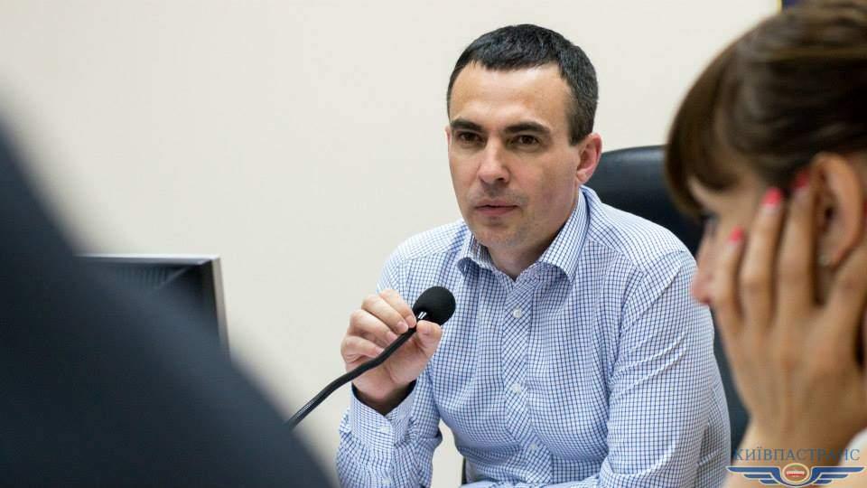 Мэр Киева уволил с должности директора «Киевпастранс»