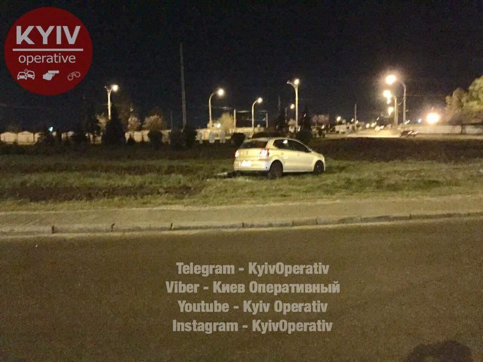 В Киеве мобильный телефон стал причиной ДТП (Фото)