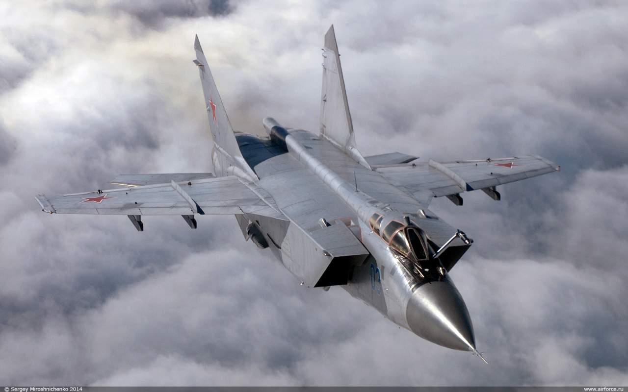 В Забайкальском крае РФ потерпел крушения МиГ-31