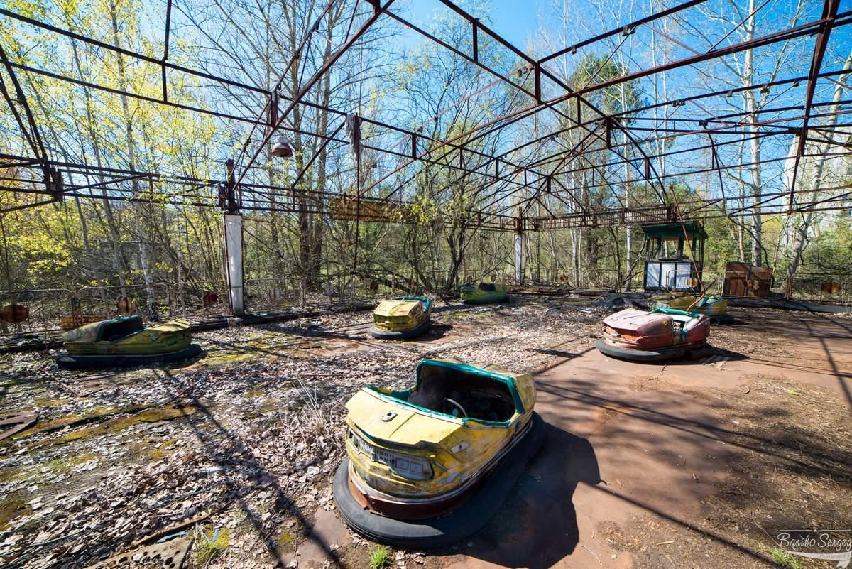 Как выглядит город Припять спустя 31 год (Фото)