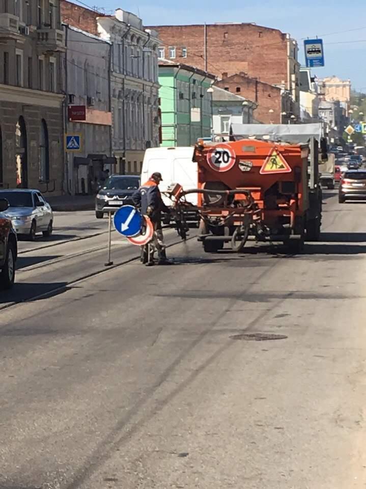 Фотофакт: дорожные службы в Харькове становятся виновниками