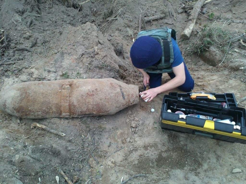 На Одесчине обезвредили 250-килограммовую бомбу времён Второй мировой войны (фото)