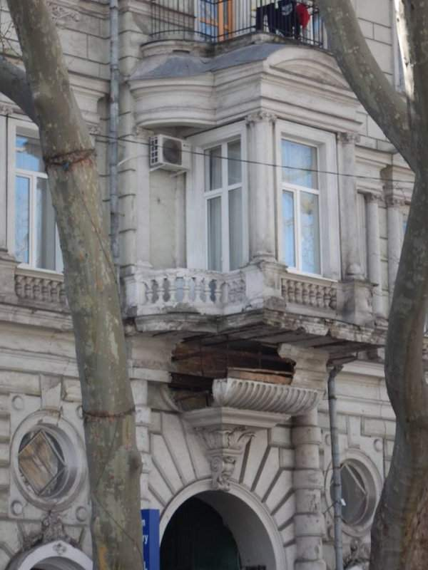 Центр Одессы перестает существовать (Фото)